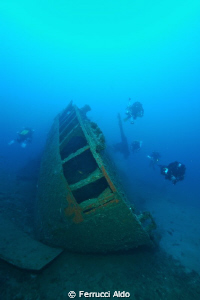 Isonzo wreck - Nice wreck situated in South Sardinia just... by Ferrucci Aldo 